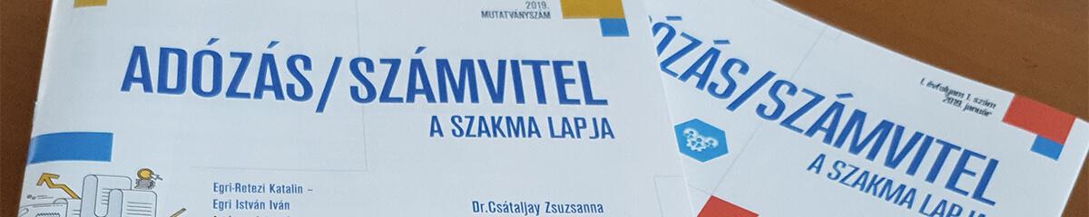 Adózás/Számvitel - A szakma lapja