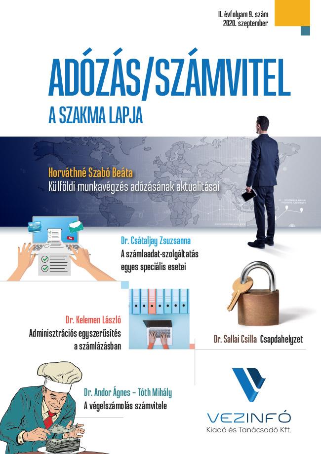 Adózás/Számvitel